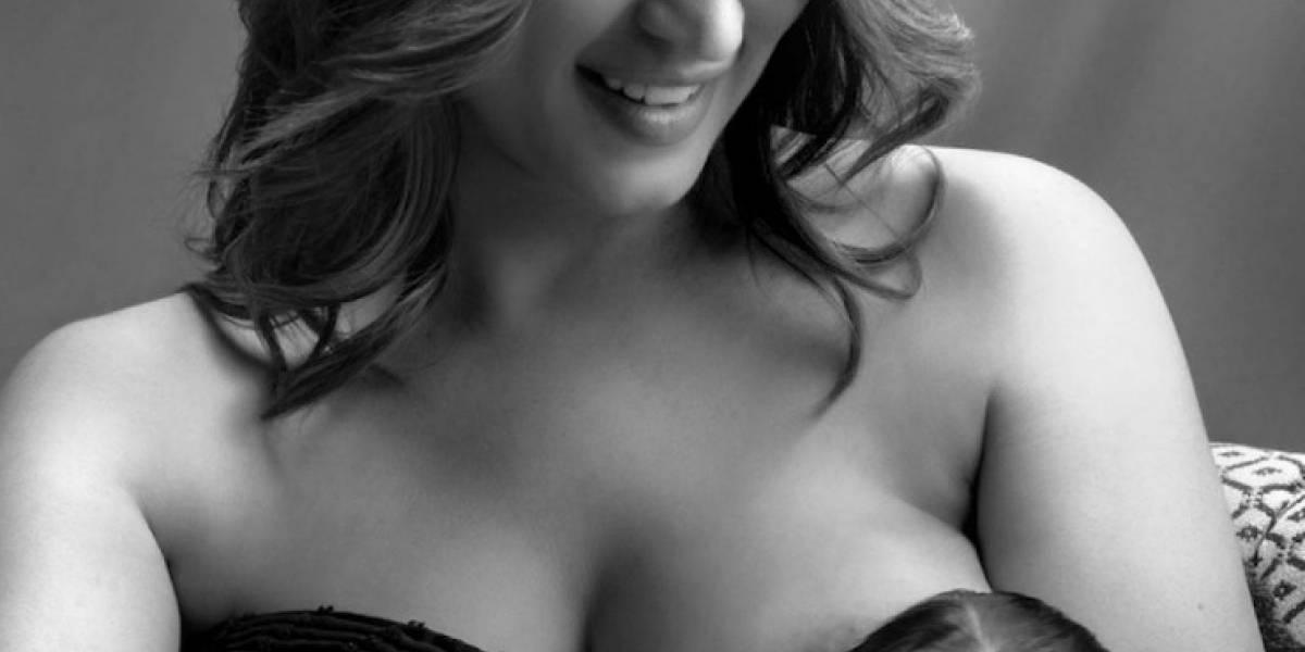 Milly Méndez defiende la lactancia
