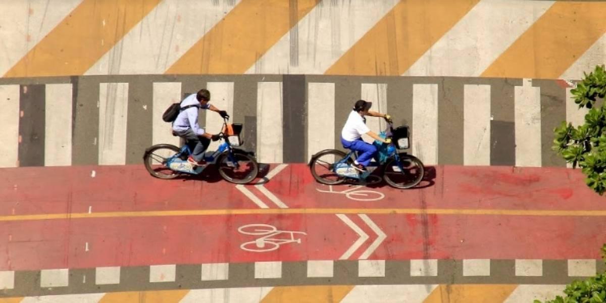 Inicia la construcción de dos kilómetros de cicloruta por la Avenida Las Vegas