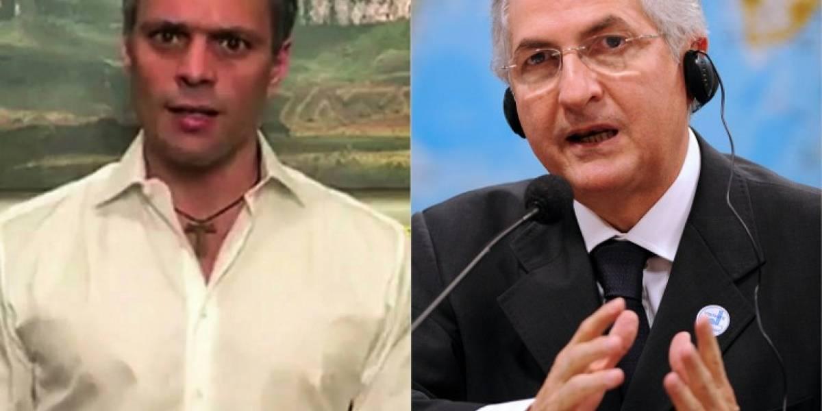 Así sacaron por la fuerza a Antonio Ledezma y Leopoldo López de sus casas