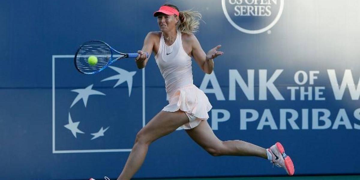 Sharapova reaparece con victoria tras dos meses y medio sin jugar