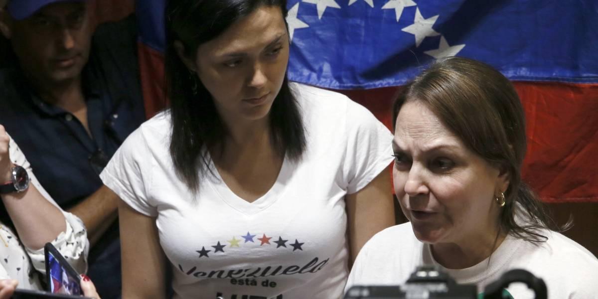 La esposa de Ledezma cree que su esposo está en la cárcel de Ramo Verde
