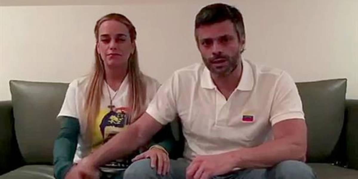 Leopoldo López y su video por si lo volvían a encarcelar