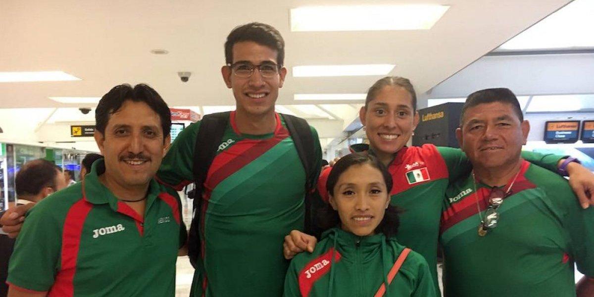 Mexicanos viajan a Londres para participar en el Mundial de Atletismo
