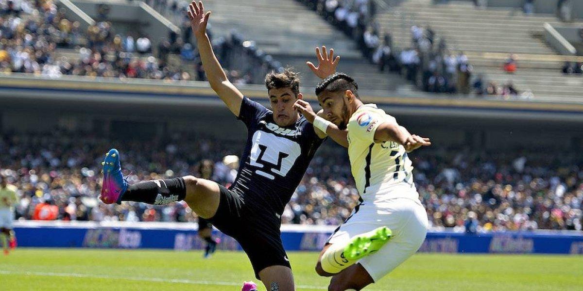 América domina a Pumas en torneos cortos
