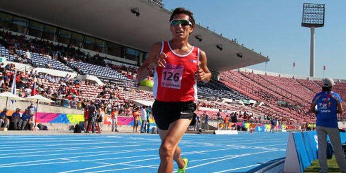 Víctor Aravena se resta del Mundial de atletismo y deja a Chile con ocho participantes