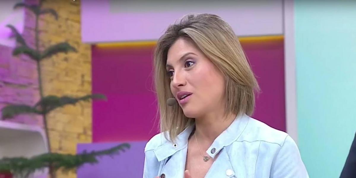El nuevo look con que Karen Bejarano regresó a la TV