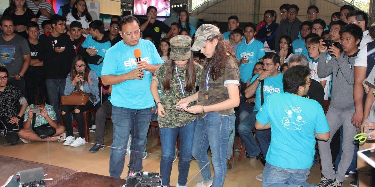 La robótica se fortalece en Guatemala y genera interés en los jóvenes