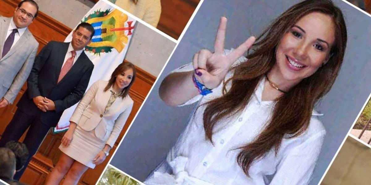"""Detienen a la """"política nudista"""" supuesta novia de Javier Duarte"""