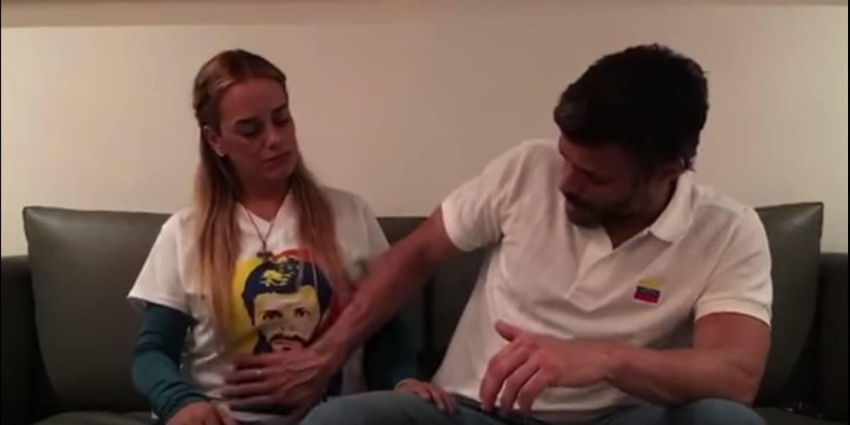 VIDEO. Leopoldo López en su último video confirma que su esposa está embarazada