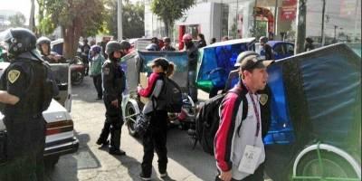 Sacan de circulación 26 mototaxis en la Venustiano Carranza