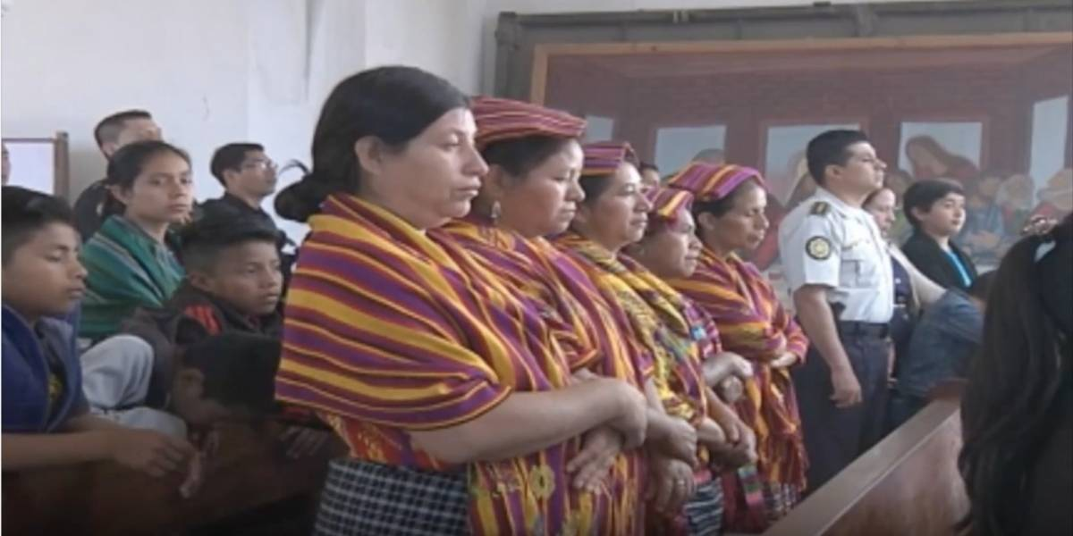 VIDEO. San Juan Sacatepéquez recuerda a los dos niños secuestrados