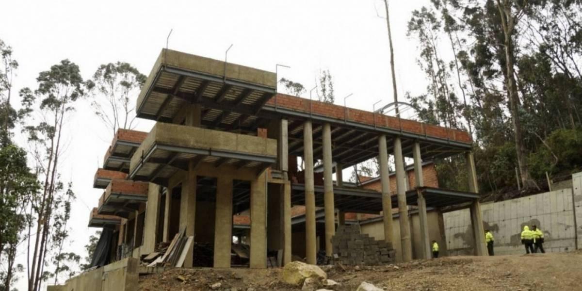 Ratifican orden de demolición de mansión en los cerros orientales