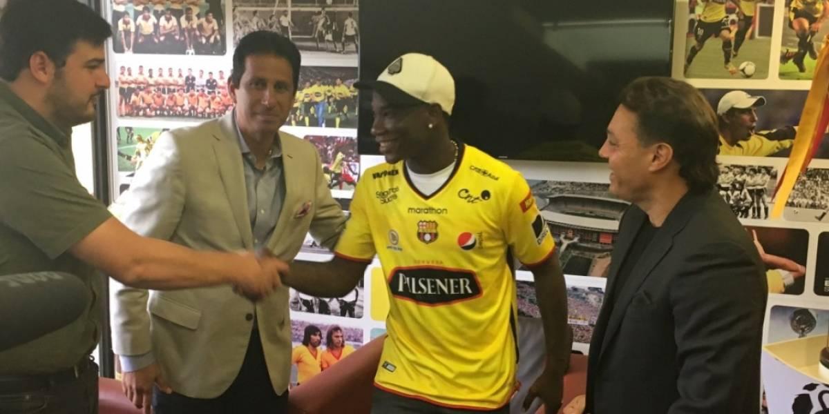 Luis 'Kunty' Caicedo ya podrá jugar con Barcelona SC