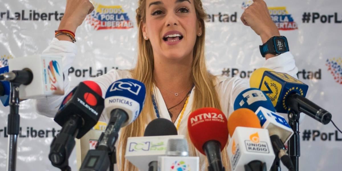 Lilian Tintori estaría embarazada ¿de Leopoldo López?