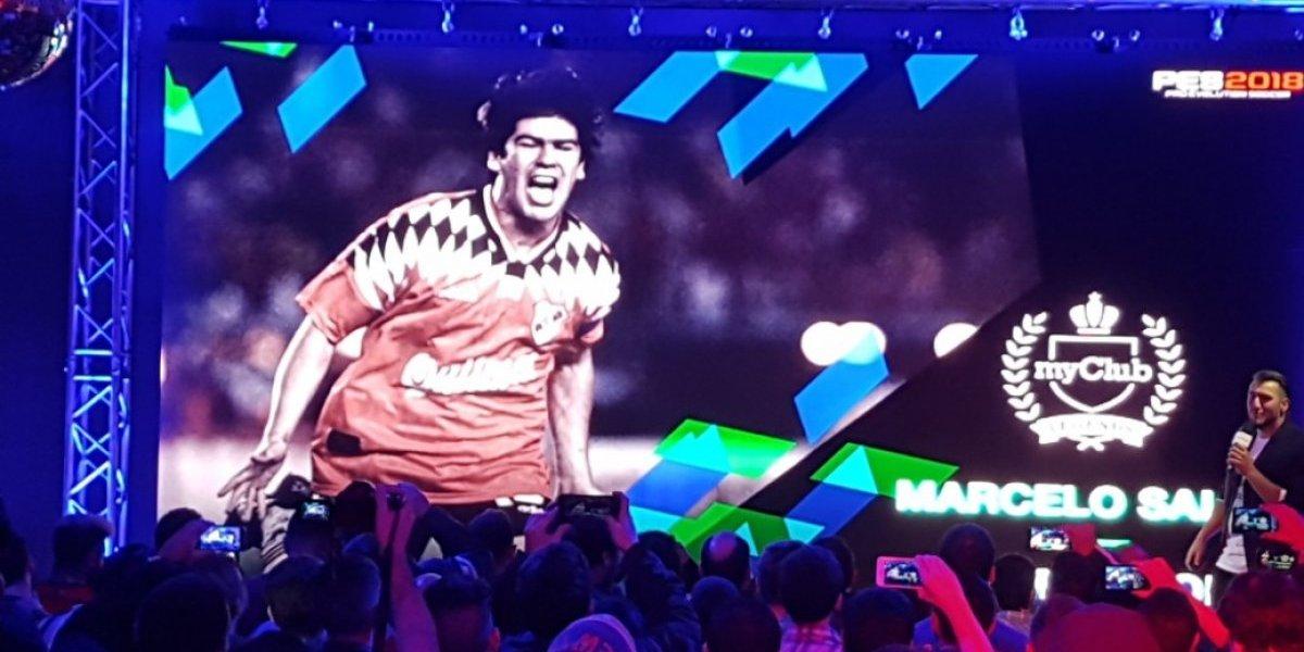 El Matador Salas se transforma en leyenda para el PES 2018