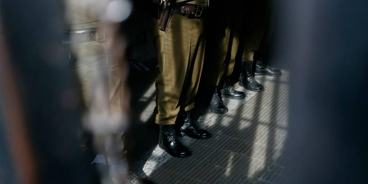 Tres carabineros fueron dados de baja por cohecho en Estación Central