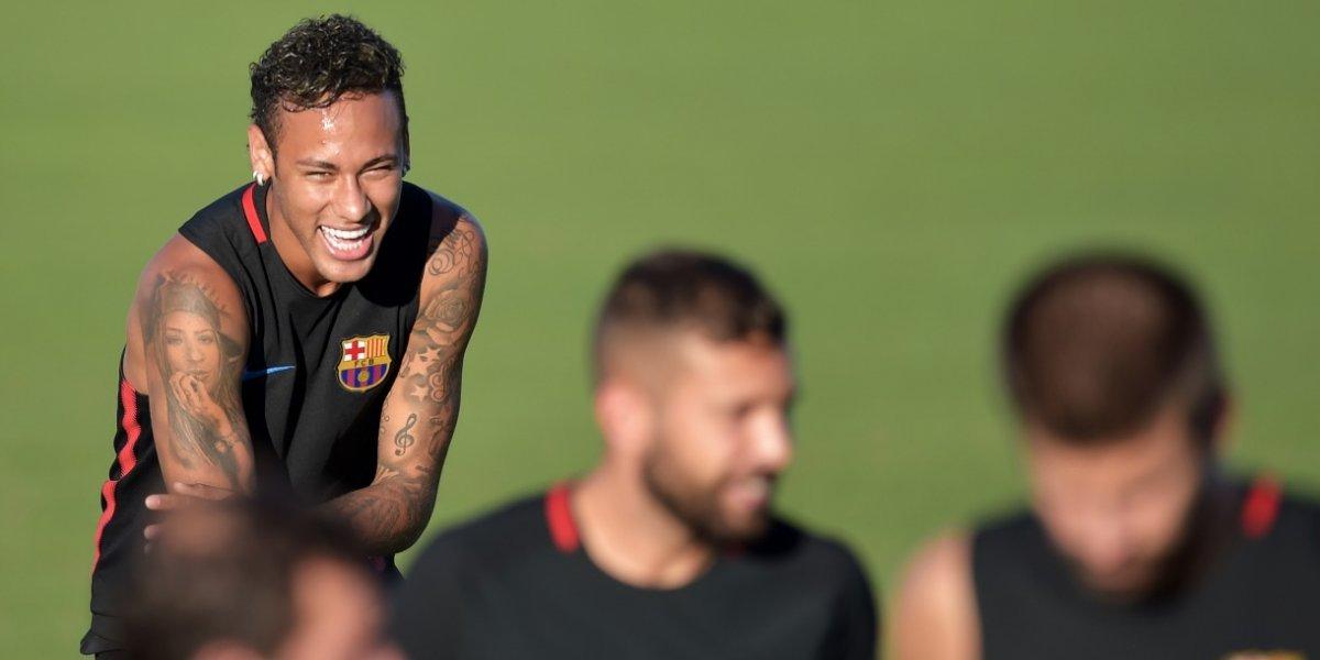 Aparecen imágenes contra Neymar en los alrededores del Camp Nou