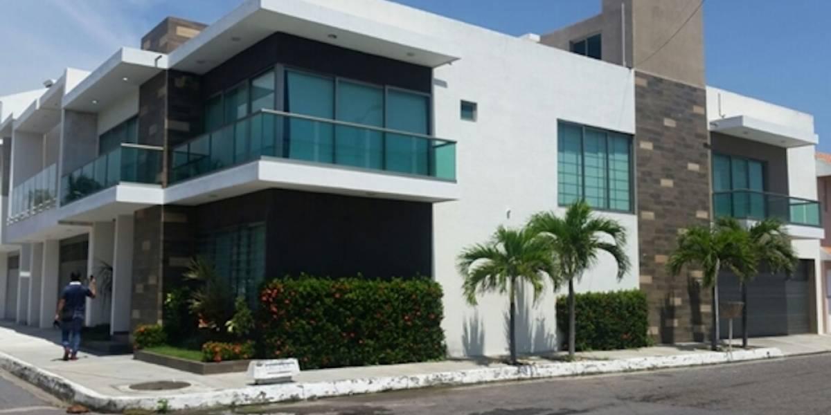 Esta es la lujosa casa de la 'novia' de Javier Duarte en Veracruz