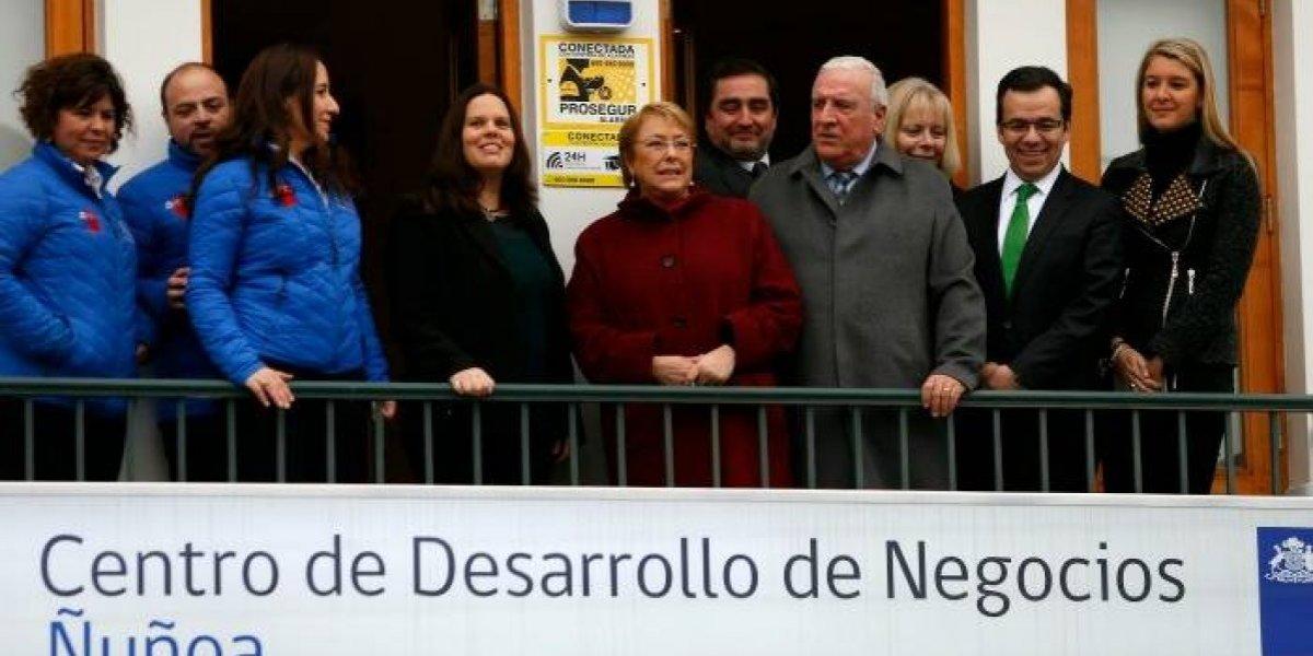 Inauguran centro de desarrollo de negocios para emprendedores en Ñuñoa