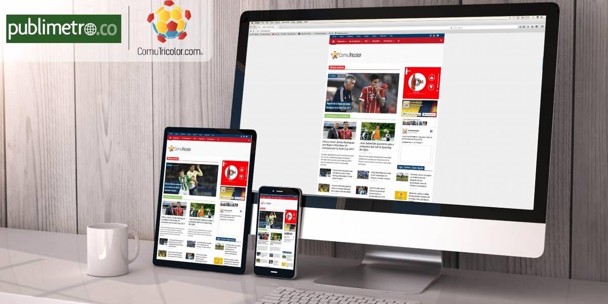 Publimetro Colombia le da la bienvenida a su familia a ComuTricolor.com