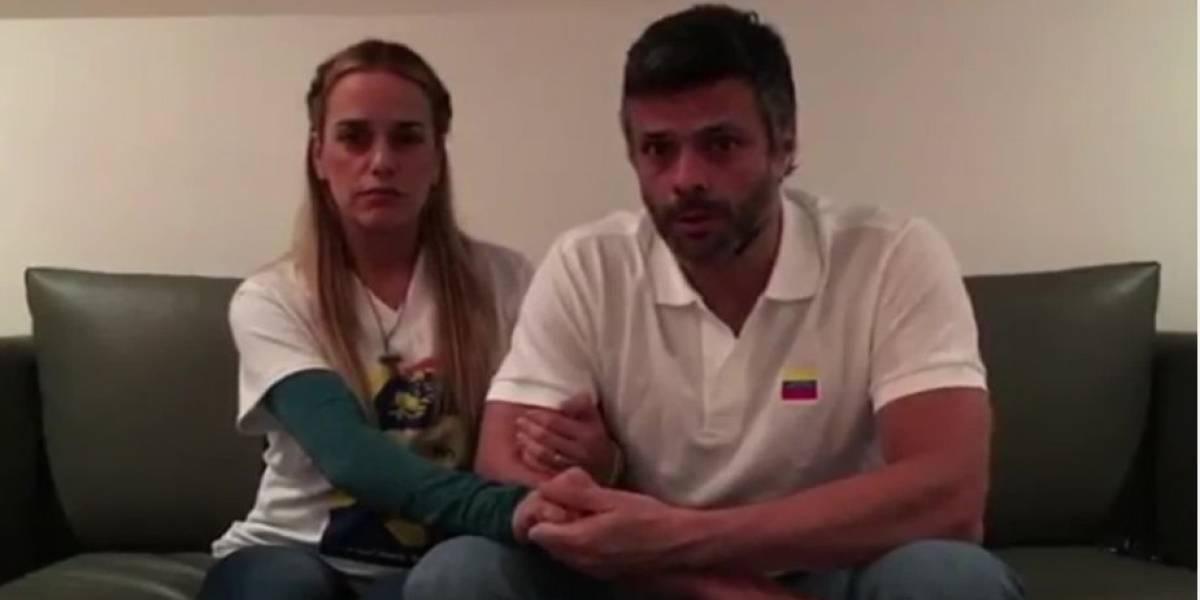Leopoldo López confirma embarazo de su esposa
