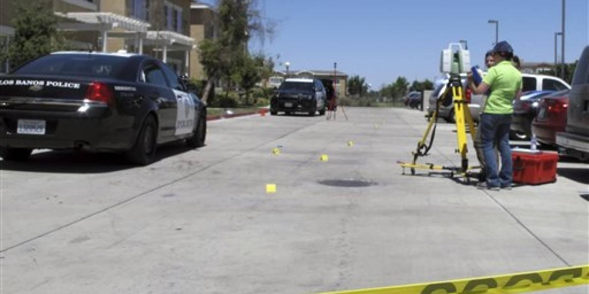 Tiroteo en California deja un muerto y dos agentes heridos