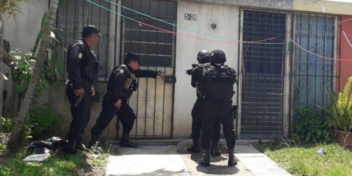 """PNC ingresa a """"guarida"""" de pandilleros que planificaban atacar a pilotos"""