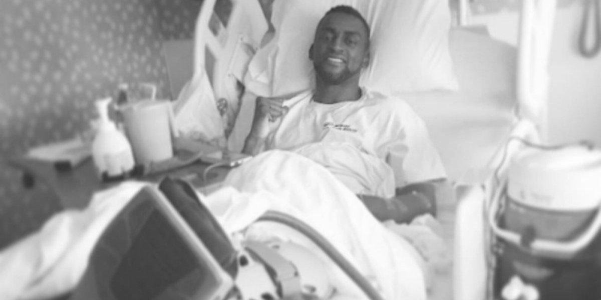 VIDEO: Jackson Martínez muestra su tobillo izquierdo tras operación