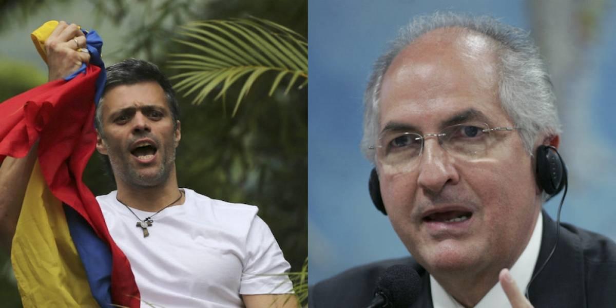 ONU y EU exigen liberación de Leopoldo López y Antonio Ledezma