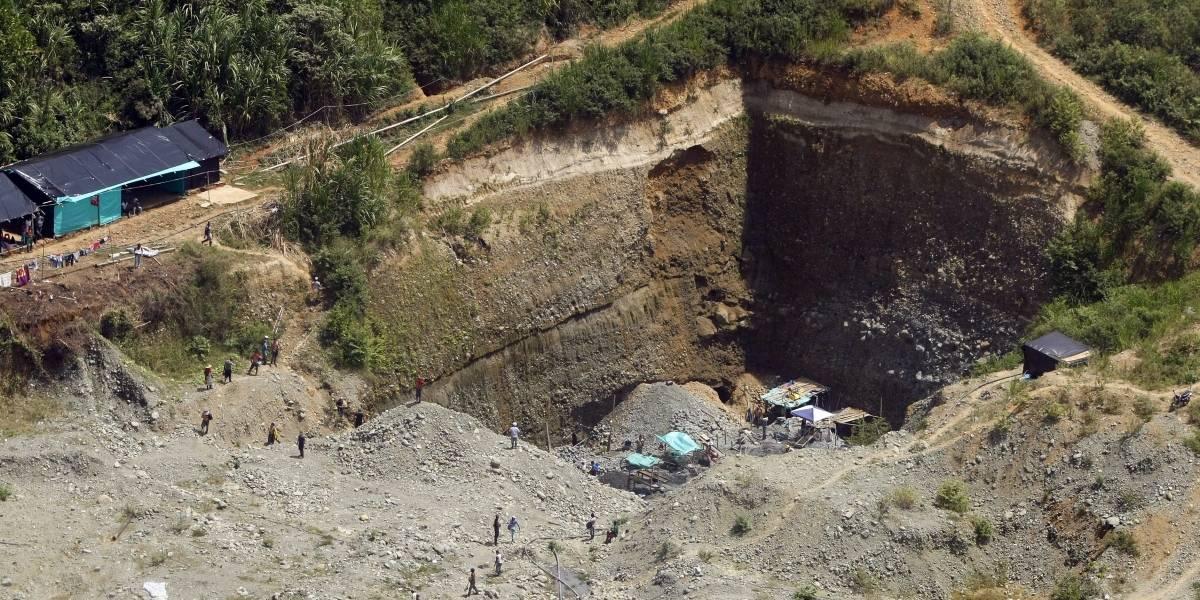 Enfrentamientos dejan un muerto en paro minero en Antioquia