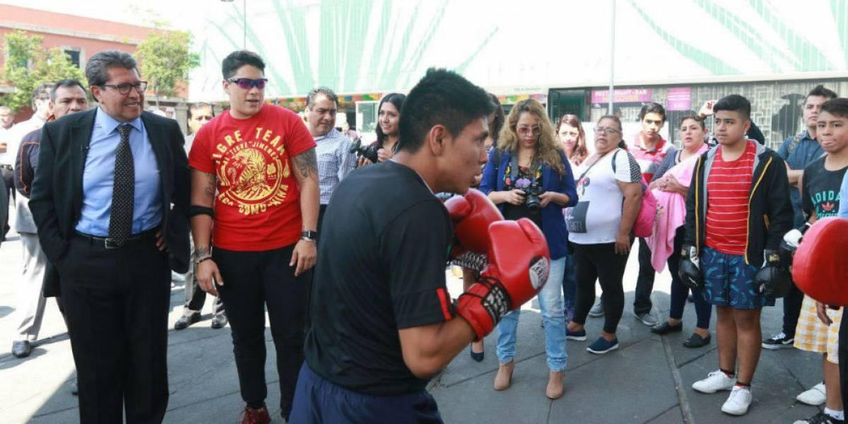 Final del torneo de box será en Plaza Garibaldi: Ricardo Monreal