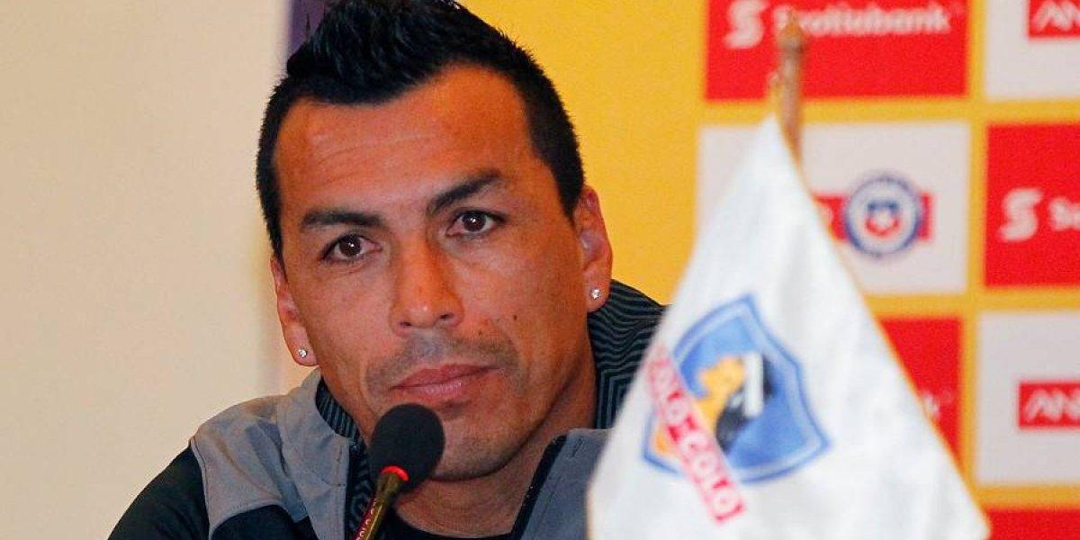 """Paredes tras renovar en Colo Colo: """"Hay que dejar las diferencias de lado y velar todos por el club"""""""