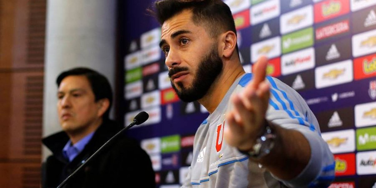"""Johnny Herrera defendió polémicos arbitrajes: """"Uno los tiene que apoyar, son una arista de la familia del fútbol"""""""