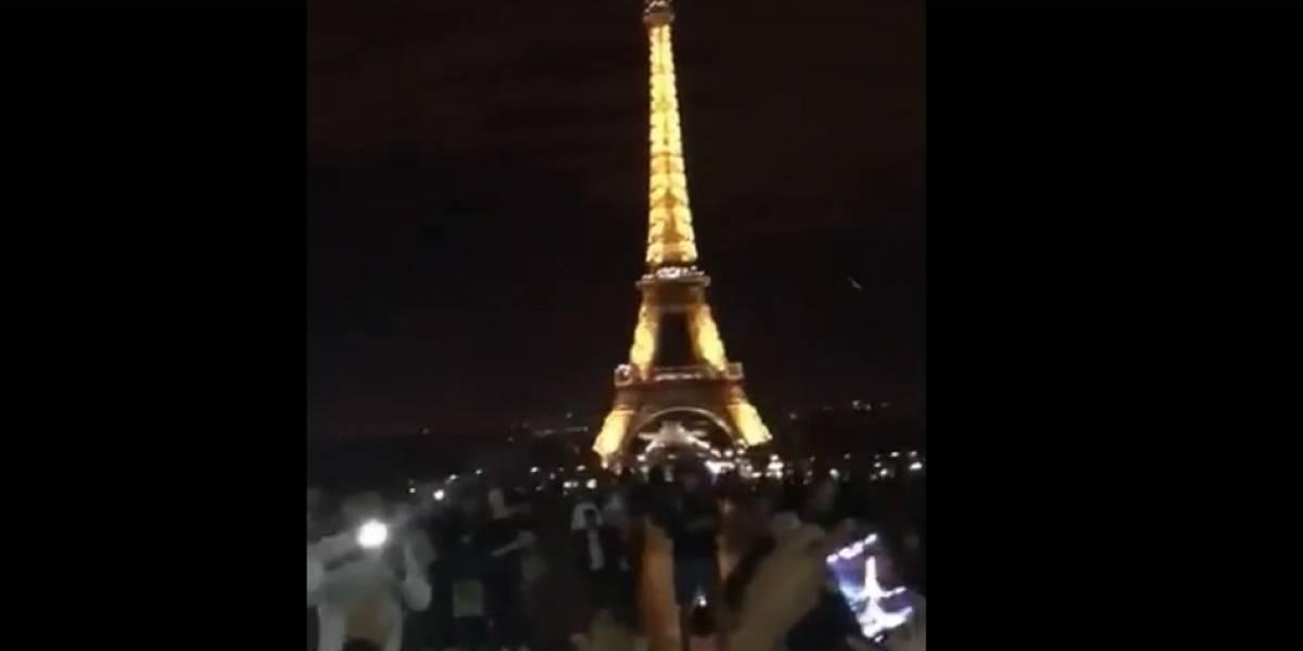 Despacito se apodera de la Torre Eiffel en París