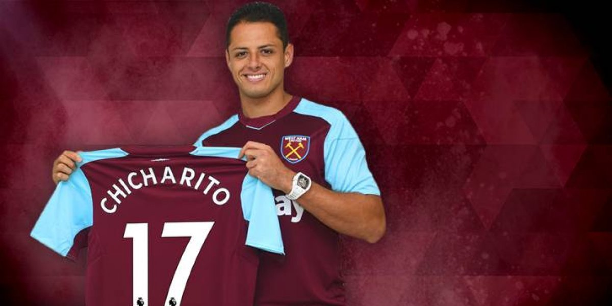 VIDEO: Chicharito se queda sin anotar en su debut con los Hammers