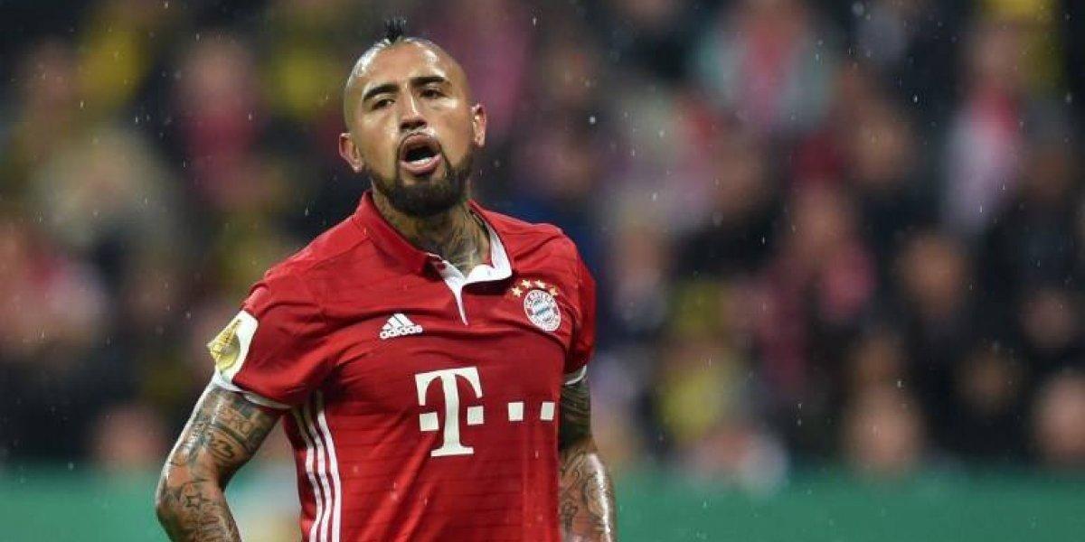 """Arturo Vidal compara al Bayern Munich: """"Somos como la selección chilena"""""""