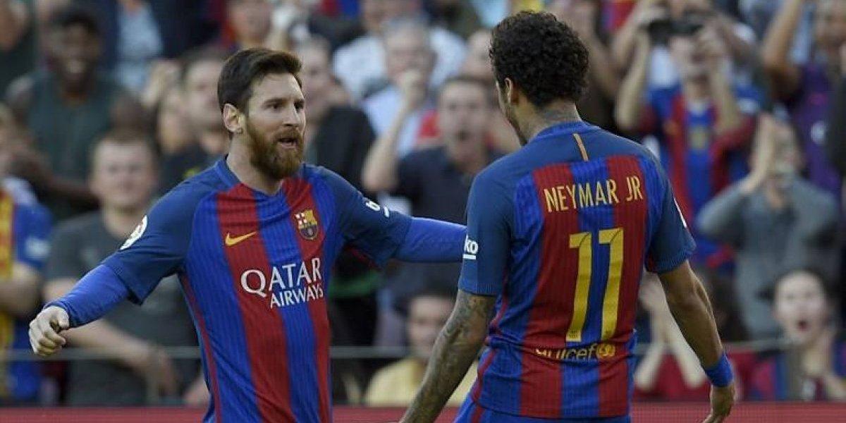 El emotivo adiós de Messi a Neymar: