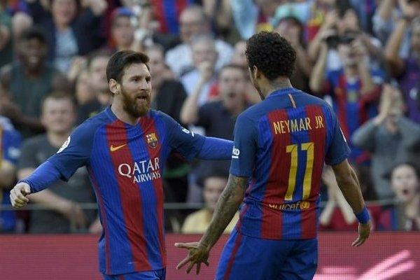 Messi Neymar