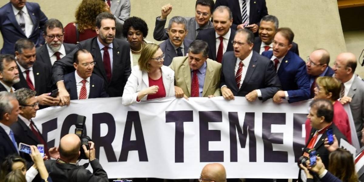 Brasil en vilo: agitado inicio de la sesión parlamentaria que decide el destino de Temer