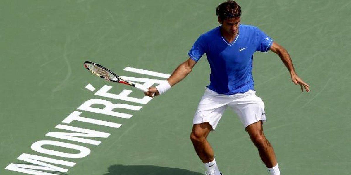 Federer confirma que jugará Montreal con el objetivo de recuperar el Nº1 del mundo
