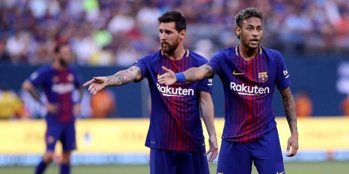 """Neymar se suma a Alexis y las otras víctimas """"a la sombra de Messi"""""""