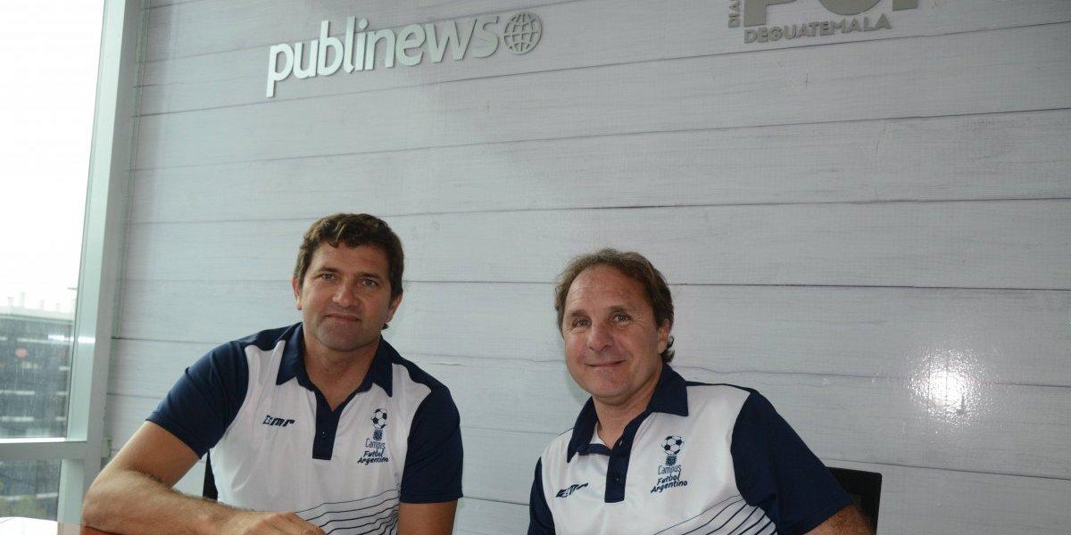Dos grandes exjugadores impartirán clínicas de futbol