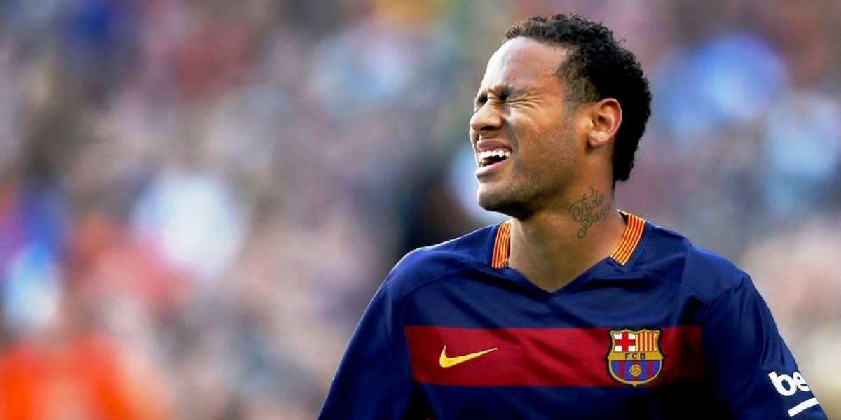 Discusión de Neymar y aficionados del FC Barcelona