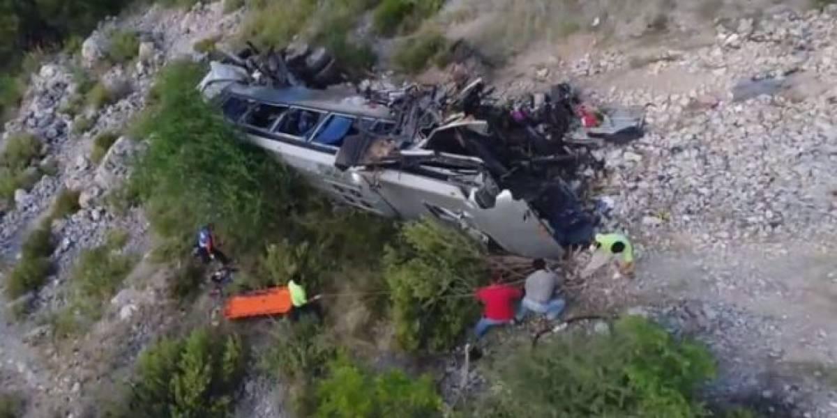 Accidente de autobús deja al menos 8 muertos en Tamaulipas