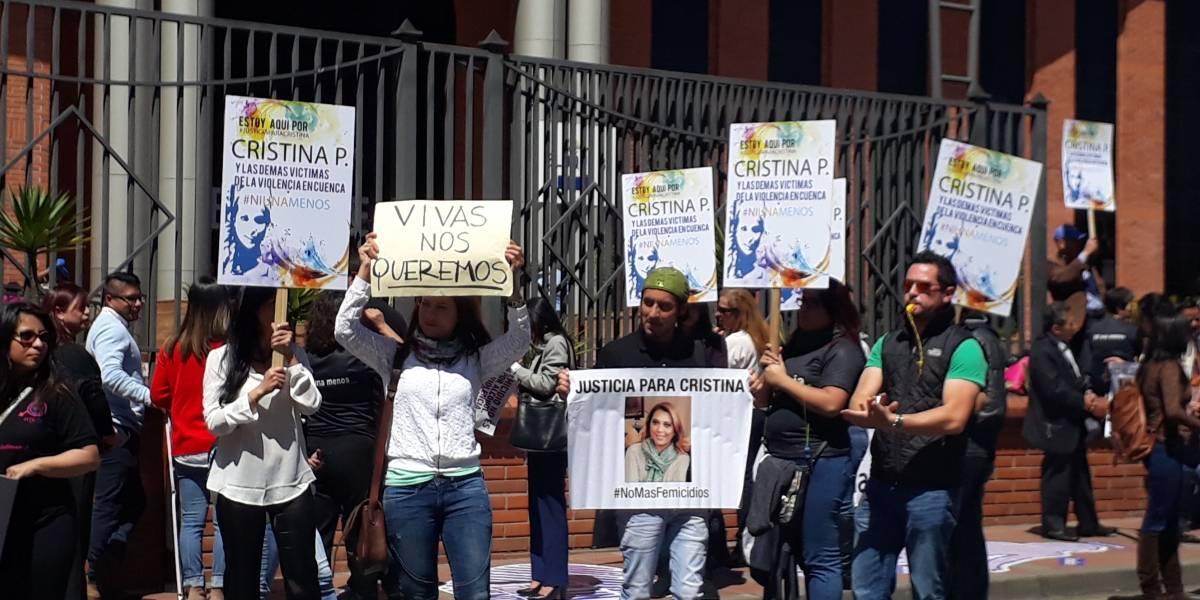Familiares piden justicia por el caso de femicidio de Cristina P.