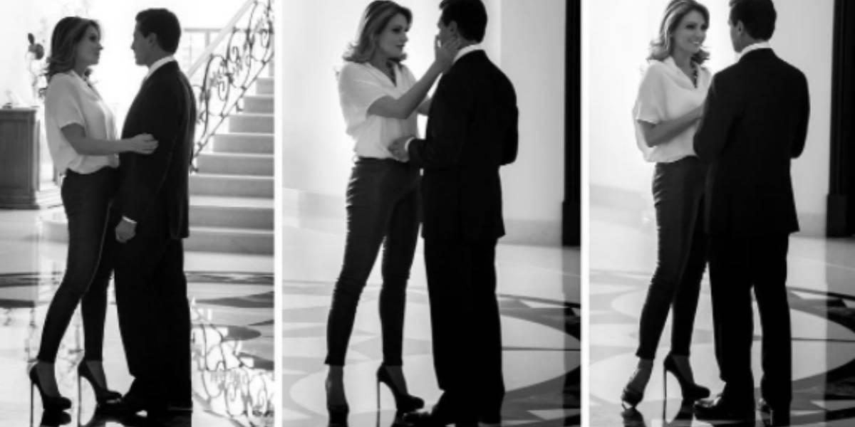 Peña Nieto felicita a su esposa, Angélica Rivera, por su cumpleaños