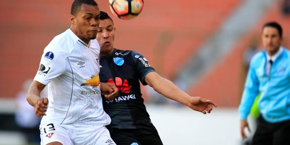 Liga de Quito ganó 1-0 a Bolívar de la Paz