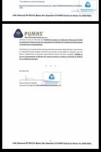 Carta Pumas