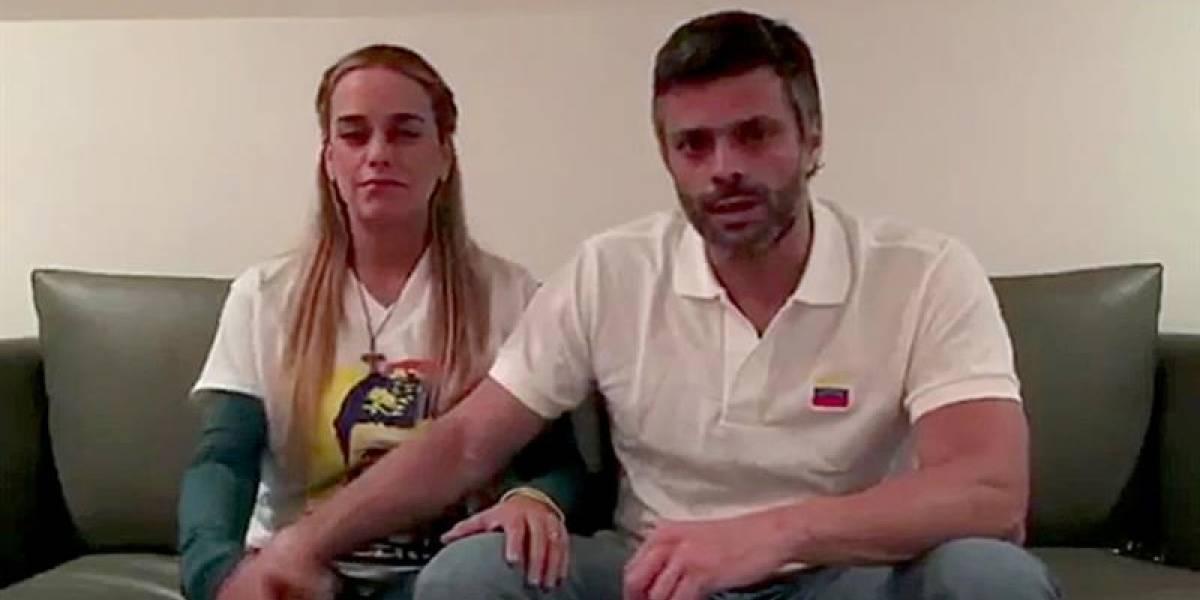 Confirman que existen videos de todas las visitas de Lilian Tintori a Leopoldo López