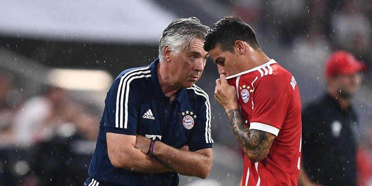 Las fuertes críticas de Rummenigge al mal desempeño de James y el Bayern